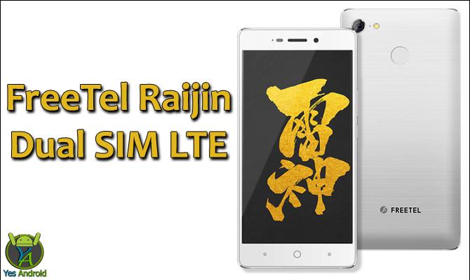 Freetel Raijin Dual SIM LTE Full Specs Datasheet