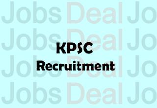 KPSC Recruitment 2017-2018