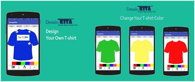 Aplikasi Desain Baju di Android