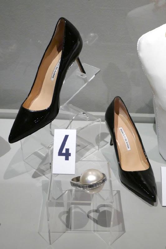 Michelle Yeoh Crazy Rich Asians Manolo Blahnik shoes