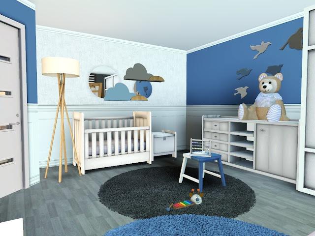 décoration chambre bébé sims 3
