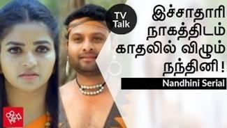 Nandhini to fallen in love   Nandhini Serial, Sun Tv, Nithya Raman