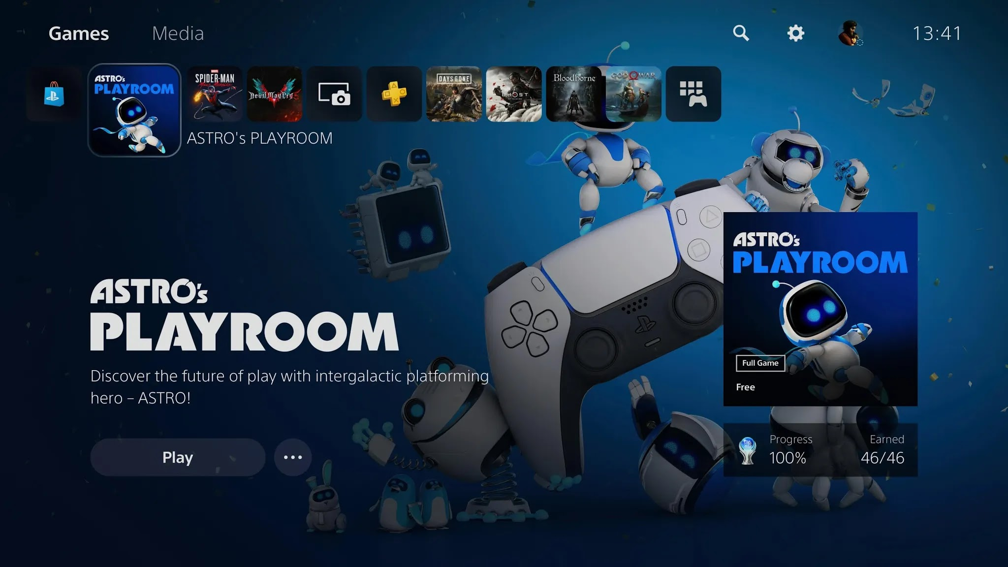How to clean the PS5 news feed
