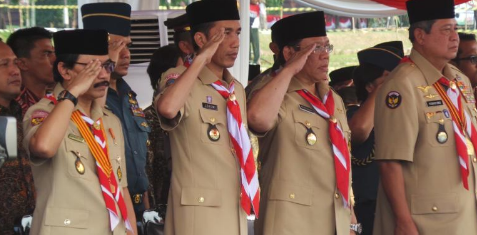 Presiden Jokowi: Selamat Hari Pramuka Ke-55