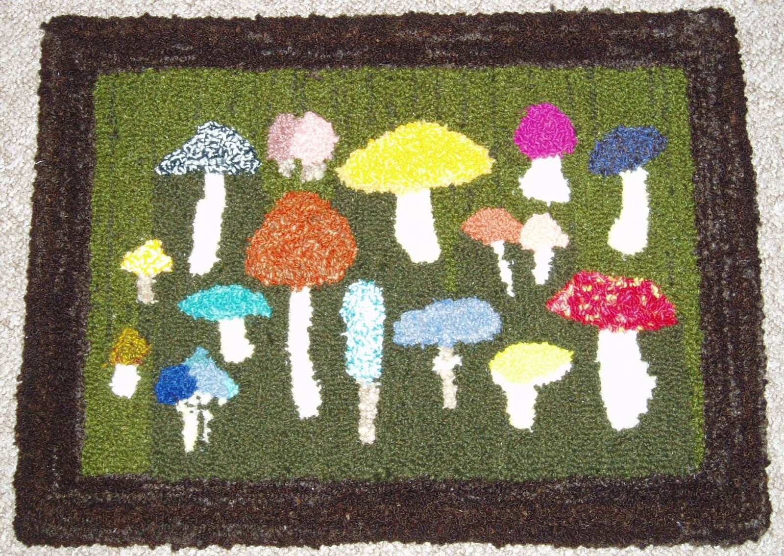 The Toadstool Rug