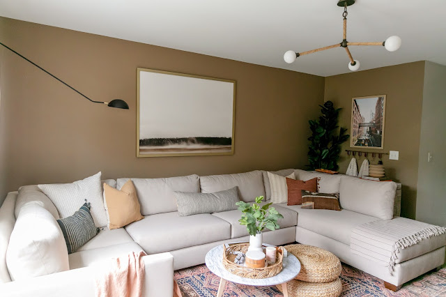 How we Added Storage and Style to Our Neglected Family Room! ORC Week 8 Reveal!