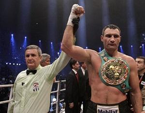 Vitali Klitschko boxing