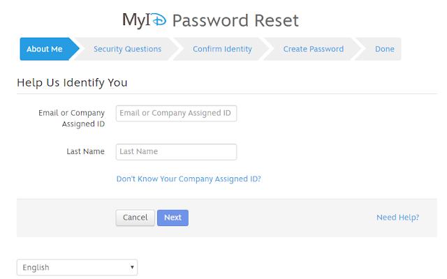Reset the disney password in detail