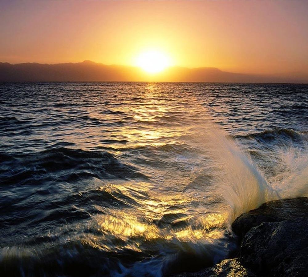 Fotos de puestas de sol sobre el mar 29