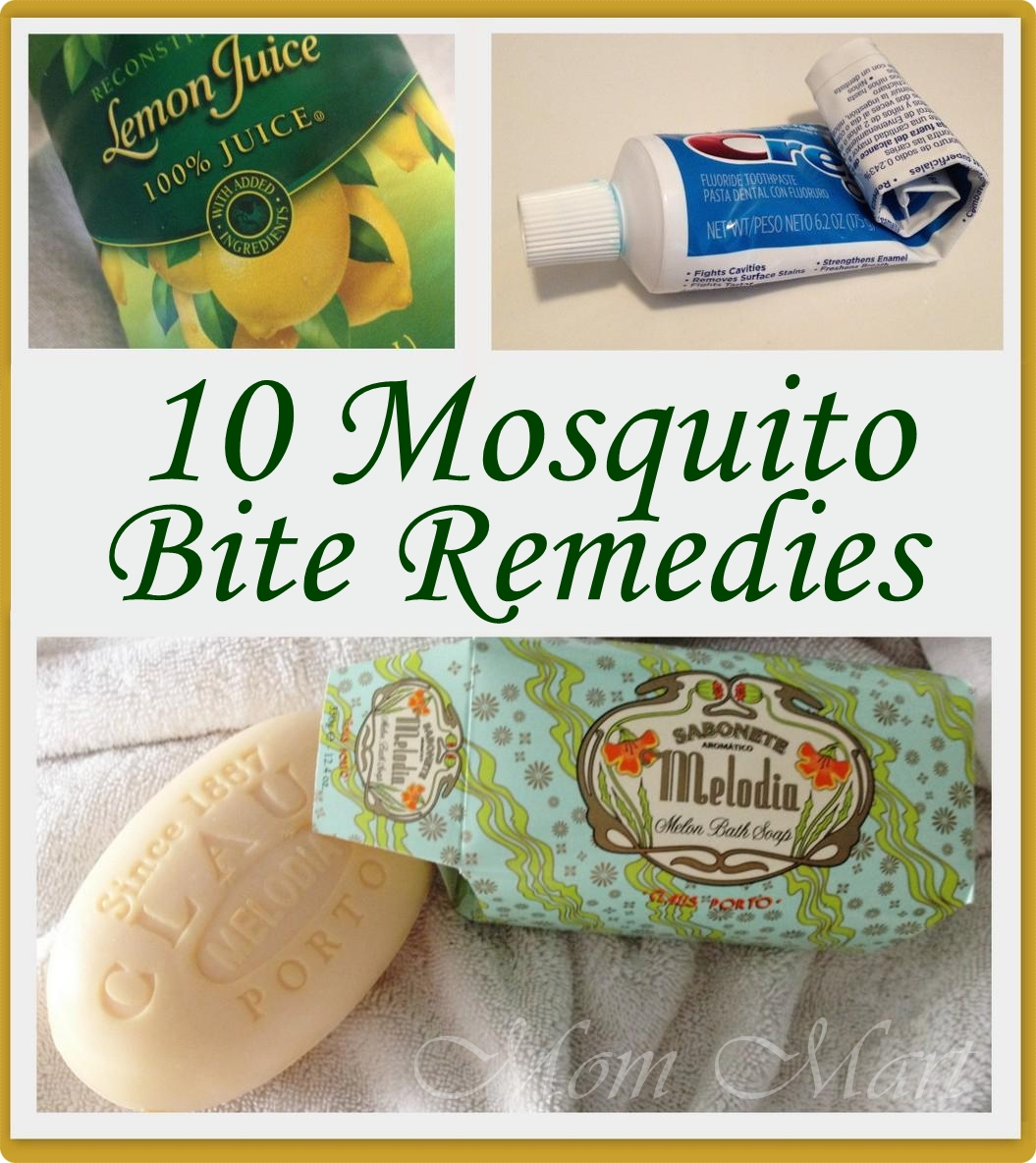 Mom Mart: 10 Mosquito Bite Itch Relief Tips & Tricks