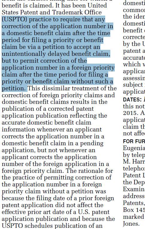 enpan's Patent & Linux practice: AIA後的國外優先權修正辦法