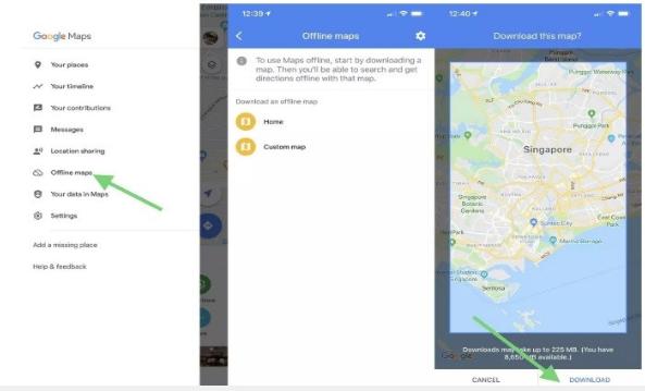 Cara Mengunduh dan Menggunakan Aplikasi Google Maps Offline