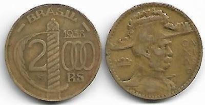 2000 Réis, 1938