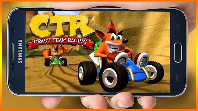 طريقة تحميل لعبة سباق سيارات كراش Crash Team Racing