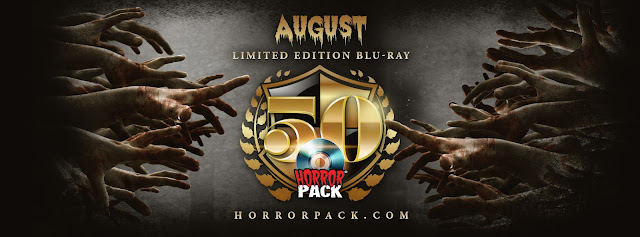 HorrorPack Limited Edition #50 Ships in the August Blu-ray Pack