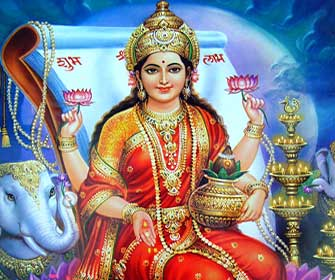 Goddess Laxmi Mata HD Wallpapers