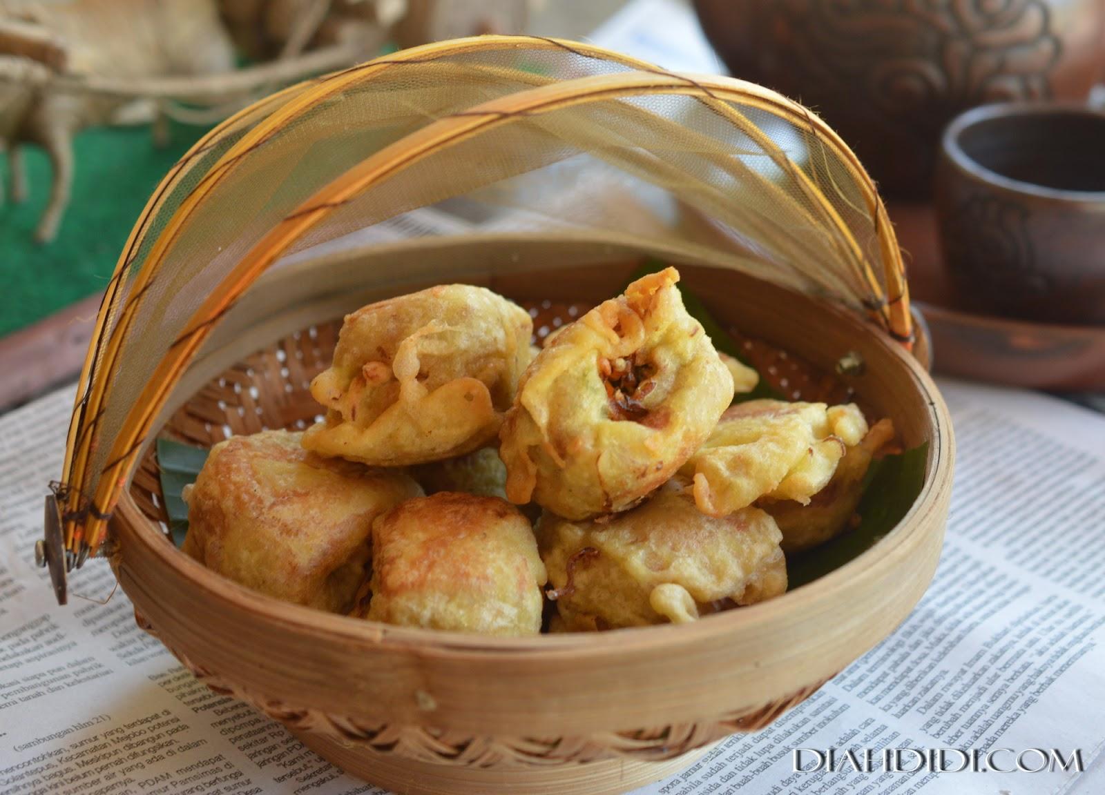 Resep Cake Pisang Diah Didi: Diah Didi's Kitchen: Tahu Isi Sayuran Ekonomis