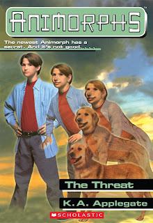 A boy (Jake) turns into a dog
