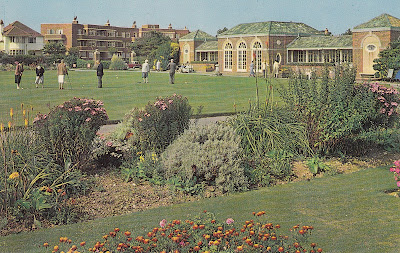 Putting Green, Marine Gardens, Worthing. Plastichrome by Colourpicture