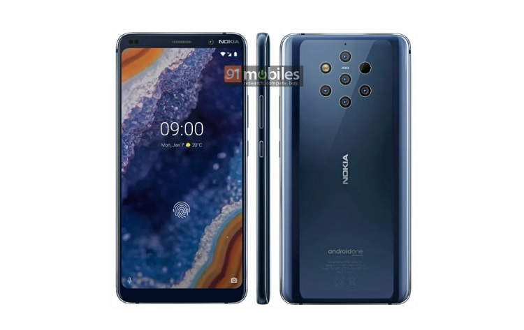 "Alleged ""Official"" Nokia 9 PureView"