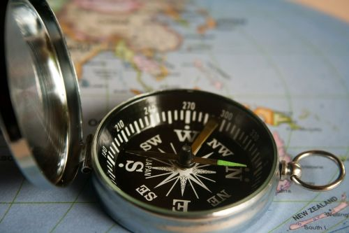 Smartphone compass is always available unlike the traditional that always misplaced.