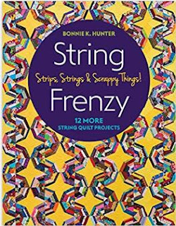 STRING FRENZY-BONNIE HUNTER-SCRAP QUILT-STRING QUILT