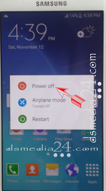 Power Off Samsung Galaxy S6 Edge Plus SM-G928S