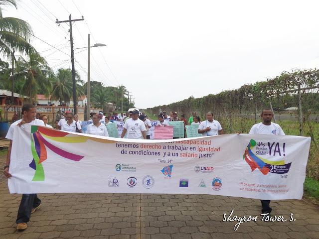 Corn Island celebró el día Internacional de las personas con discapacidad
