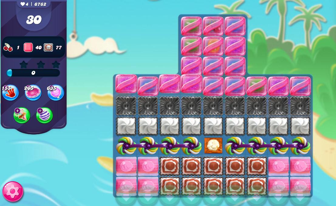 Candy Crush Saga level 6762