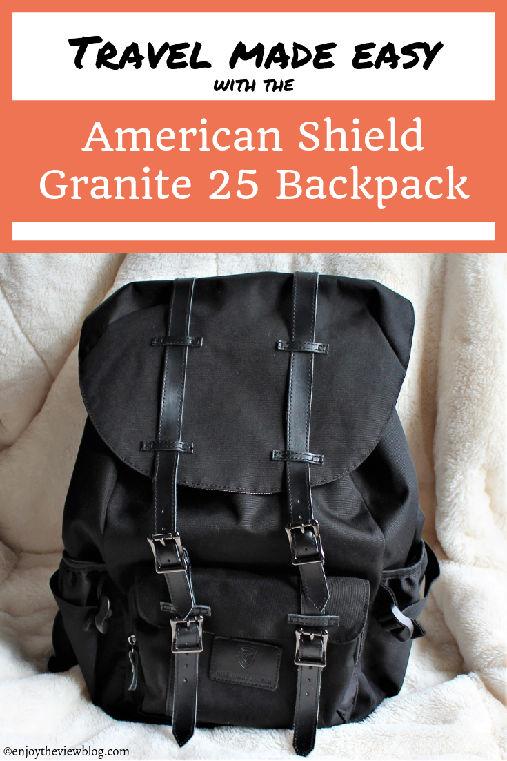 Pinnable image of a black backpack