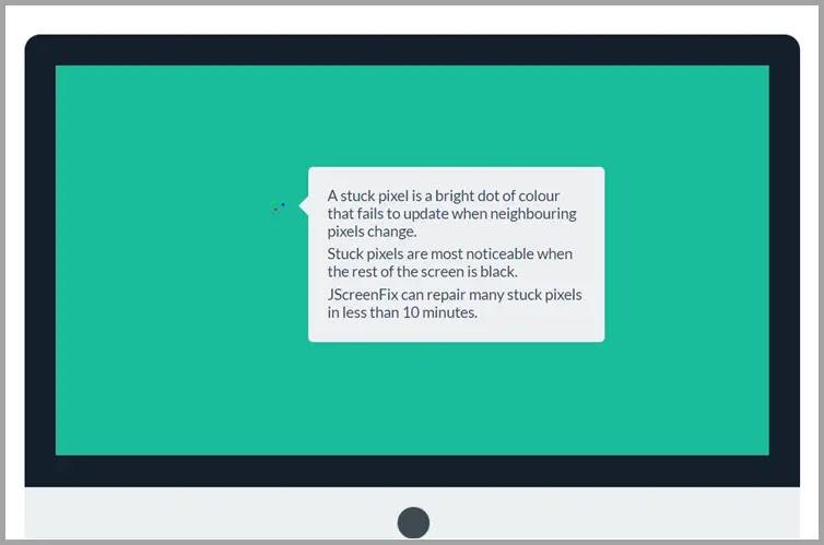 JScreenFix : Επισκευάστε τα κολλημένα pixels της οθόνης σας
