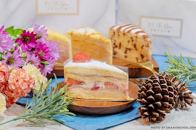 MG 7194 - 熱血採訪│台中人氣千層蛋糕12/19新開幕!百元就能品嚐美味千層,還有限定草莓千層新發售!