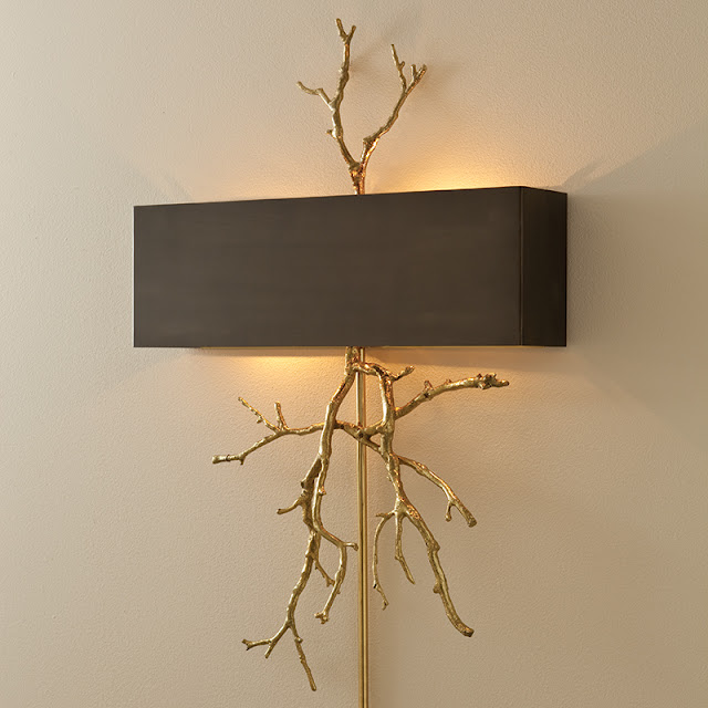 Willow Bee Inspired: Speaking of Walls No. 5 - Wall Sconces