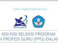 DOWNLOAD Kisi-Kisi PPG 2019 Terlengkap