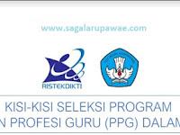 DOWNLOAD Kisi-Kisi PPG 2019 Terlengkap