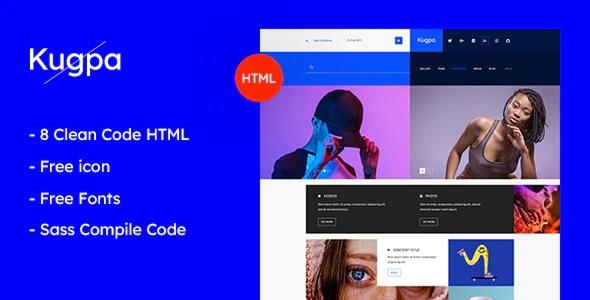 Creative Premium HTML Template