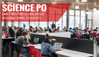 Emile Boutmy Scholarship at Science Po