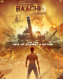 Baaghi 3 movie review and songs