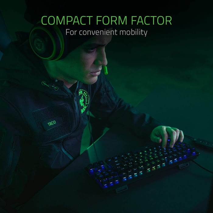 Razer Huntsman Tournament Edition TKL Tenkeyless Gaming Keyboard