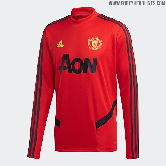 Manchester United 2020 Pre Match Kit Released Training Kit Revealed Footy Headlines