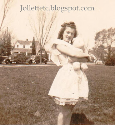 Betsy Ward Lumsden Gray Delcambre 1946 Baby Day Cradock High School http://jollettetc.blogspot.com