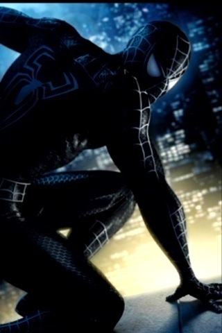Live Black Spiderman Iphone Wallpapers