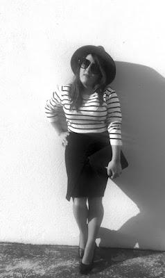 blanco y negro bicolor - Zara Primark Mac