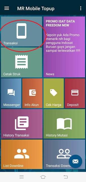 Cara Jual Pulsa Lewat HP Android, cara menjual pulsa hp bagi pemula