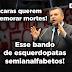 Delegado Jacovós fica irritado com a esquerda por atribuírem GENOCÍDIO ao Presidente Bolsonaro e chama os esquedopatas de semianalfabetos