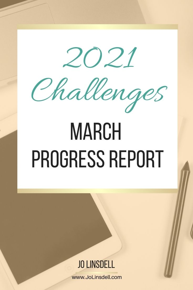 2021 Challenges: March Update