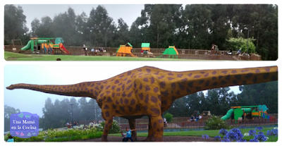 Dinosaurio y parque Museo Jurásico de Asturias