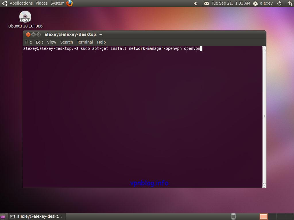 Ubuntu vpn restart