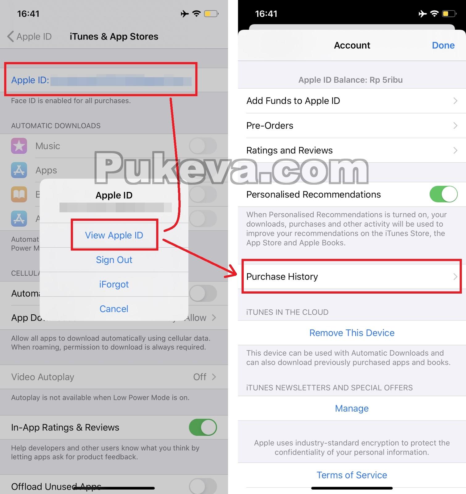 Cara Melihat Riwayat History Pembelian Di App Store Itunes Iphone Pukeva