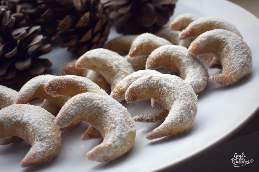 Rezept Vanillekipferl für Hunde Weihnachtsplätzchen Hundekekse selbst backen